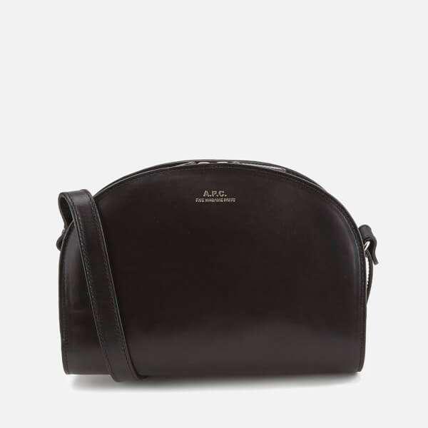 A.P.C. Women's Demi Lune Bag - Black
