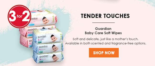 Guardian Baby Care Soft Wipes