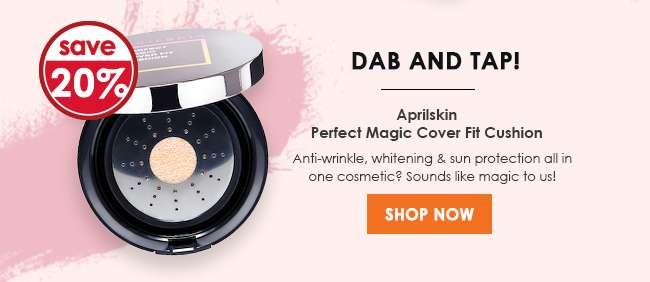 Aprilskin Perfect Magic Cover Fit Cushion