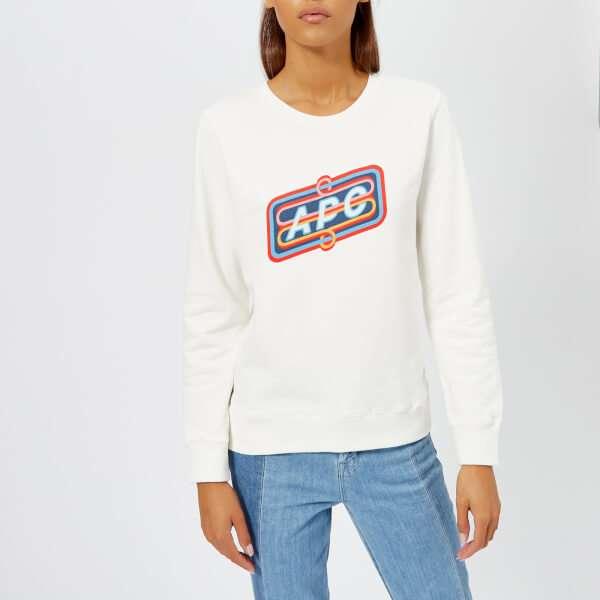 A.P.C. Women's Norman Sweatshirt - White