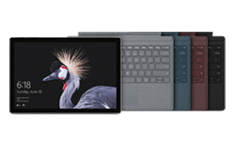 Save 15% on Surface Pro bundle: i5/8GB RAM/128GB SSD + your colour choice of Type Cover
