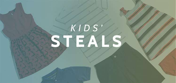 Up to 80% Off Kids' Steals