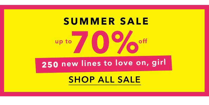 Up To 70% Off - Shop All Sale
