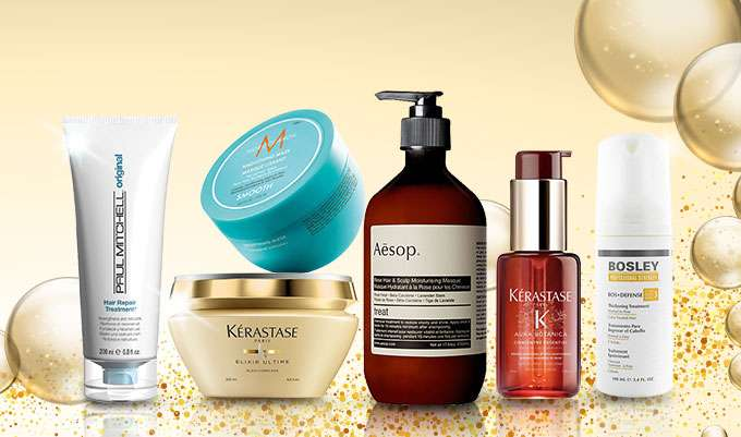 Shiniest Hair Makeover Up to 50% Off! Aveda, Kerastase, Rene Furterer, Moroccanoil & more! Ends 18 Jul 2018