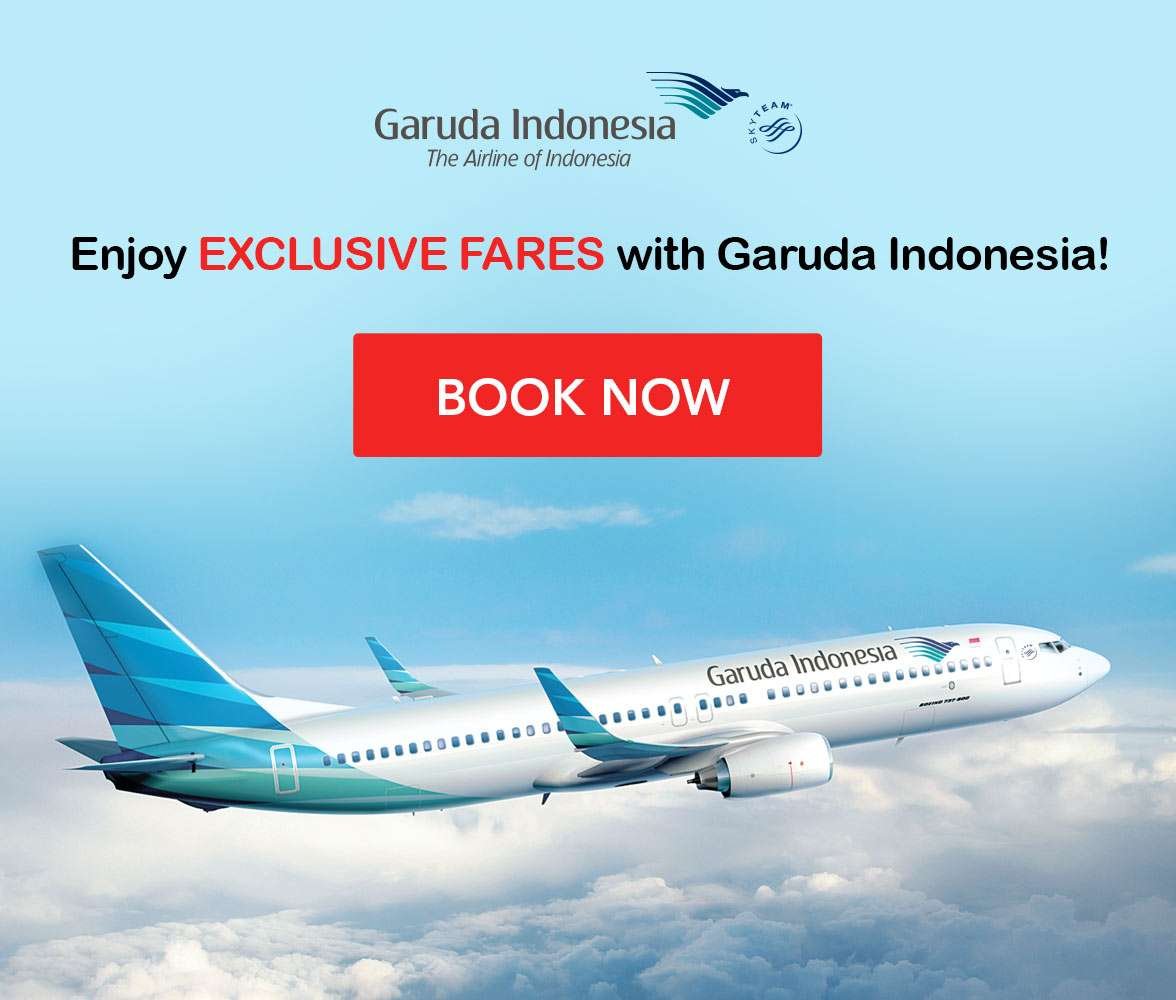 Get the best deals with Garuda Indonesia!