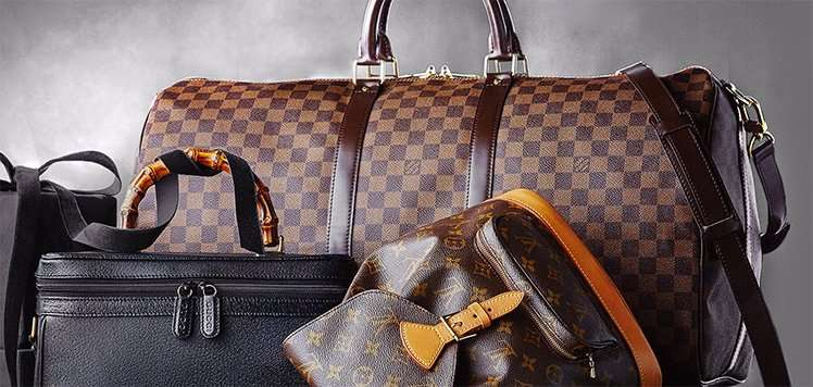Louis Vuitton & More Luxe Vintage Luggage