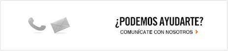 Â¿PODEMOS AYUDARTE? | COMUNÃCATE CON NOSOTROS