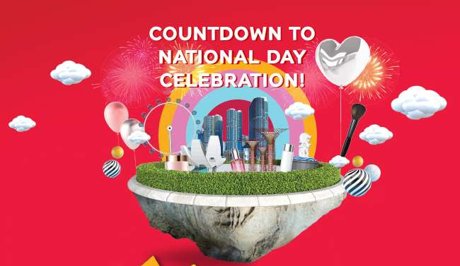 Special Promotions Counting down to National Day Celebration!