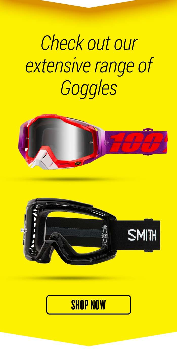 Check out our extensive range of Goggles