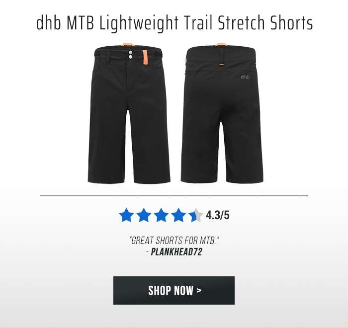 dhb MTB Lightweight Trail Stretch Shorts
