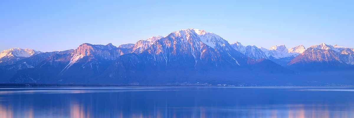 The Alps - Geneva
