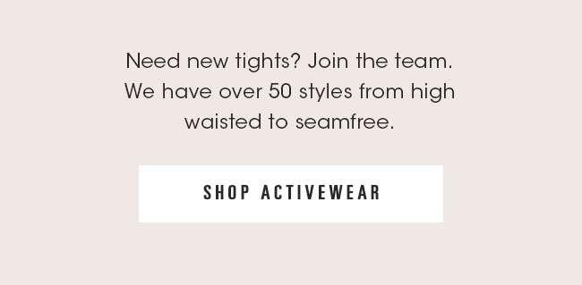 Activewear | Shop Now