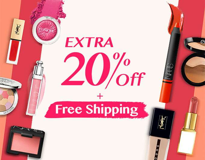 Get Extra 20% Off + Free Int'l Shipping! Offer Ends 25 Nov 2018