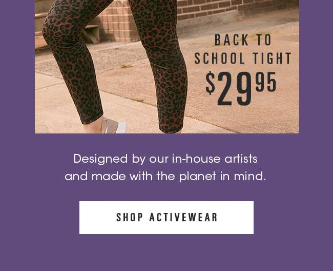 New Activewear | Shop Now