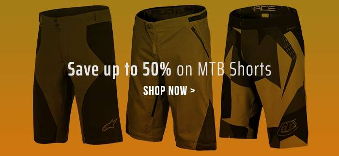 Save up to 50% on MTB Shorts