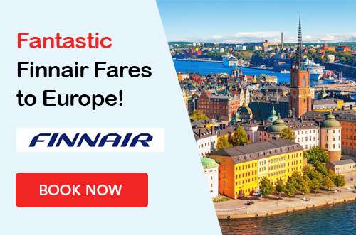 Great Fares to Europe on Finnair