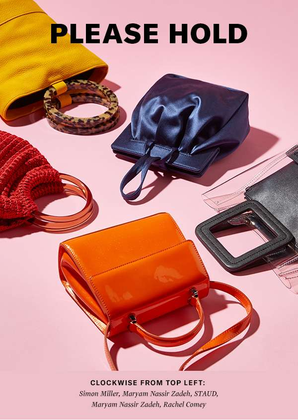 Our latest top-handle bags are cute, clutch-able, and perfect for day or night.