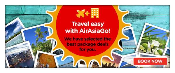 Booked with AirAsiaGo?   Earn BIG Points now.