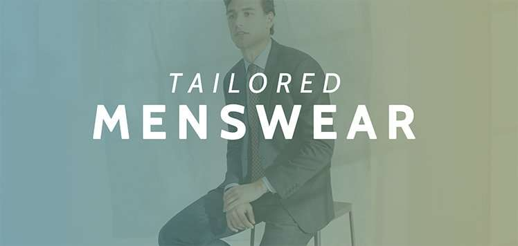 Up to 75% Off Tailored Menswear