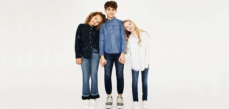 Kids' Denim & Tops for the Playground