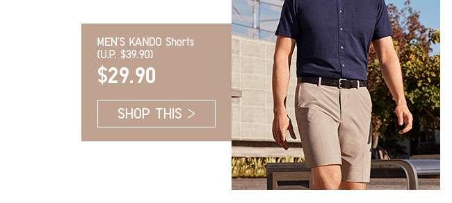 Limited Offer! Men's KANDO Shorts at $29.90