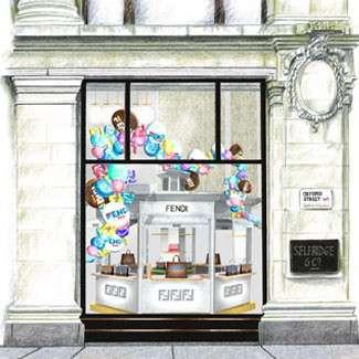 Don't miss: the Fendi Kiosk