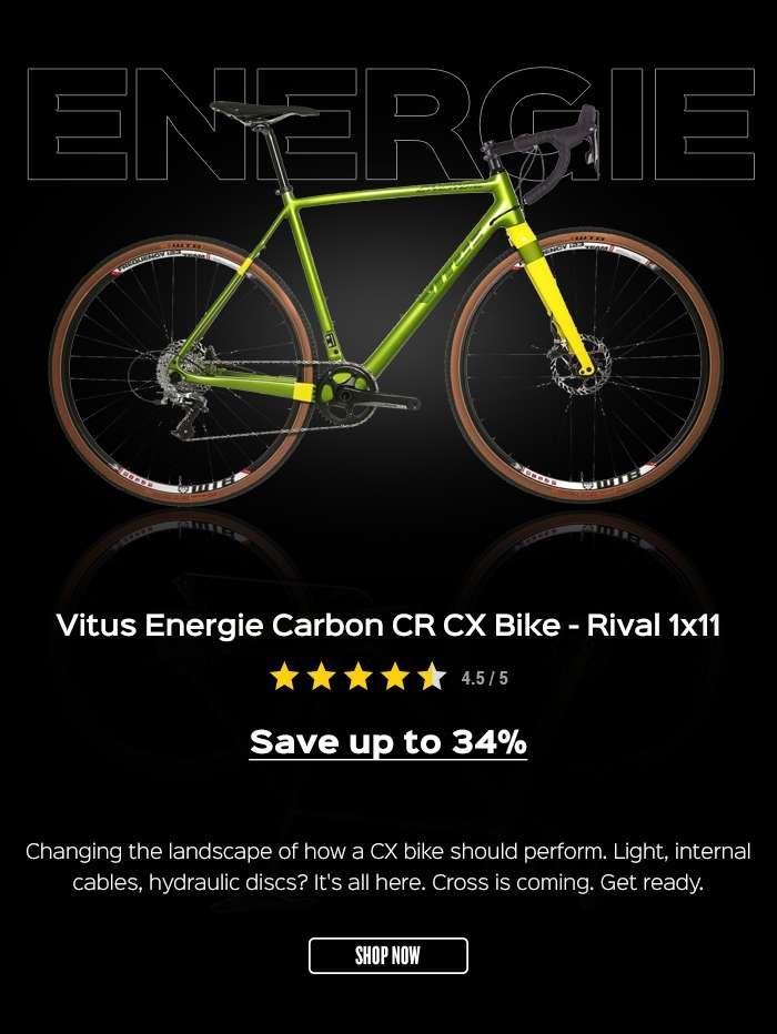 Vitus Energie Carbon CR CX Bike - Rival 1x11