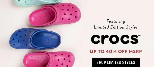 Shop Limited Styles-Crocs