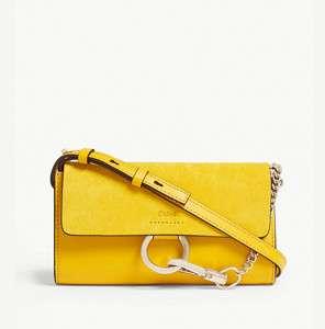 Faye leather mini bag