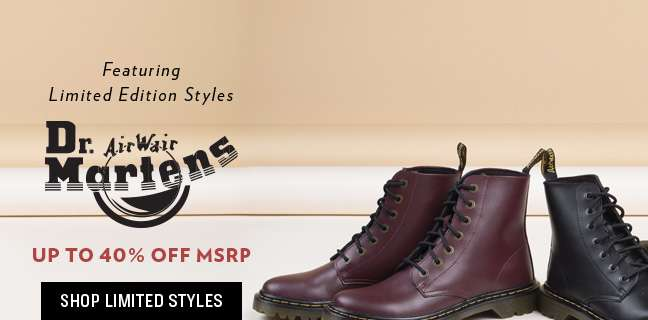 Shop Limited Styles-Dr. Martens