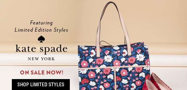 Shop Limited Styles- Kate Spade