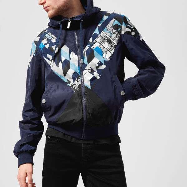 Versace Jeans Men's V Insert Jacket - Bluette: Image 01