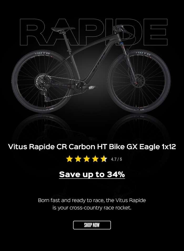 Vitus Rapide CR Carbon HT Bike GX Eagle 1x12