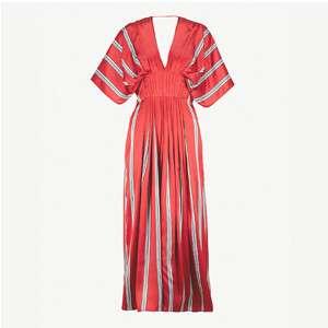 Mihara striped midi dress