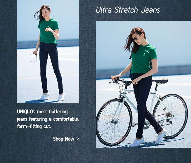 Womens Ultra Stretch Jeans