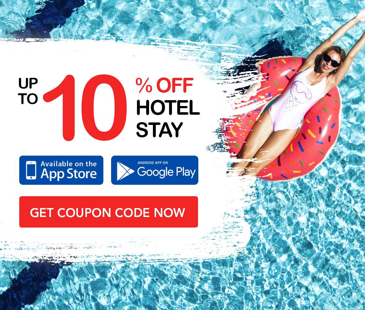 Additional 10% OFF Hotel coupon code