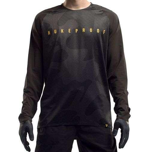 Nukeproof Nirvana Long Sleeve Jersey - Camo