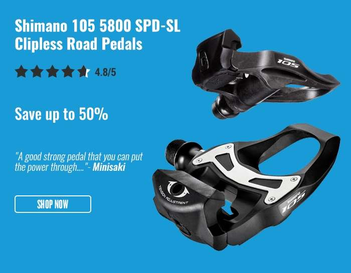 Shimano 105 5800 SPD-SL Clipless Road Pedals