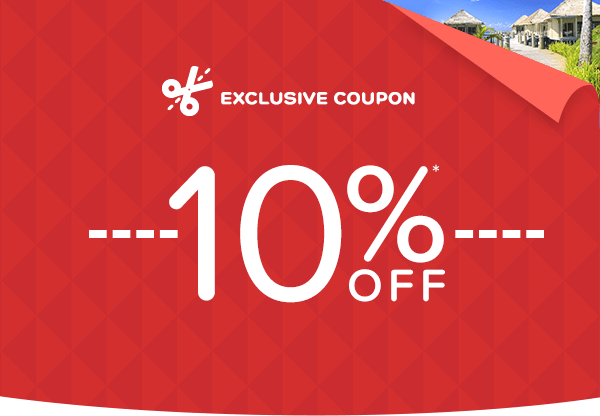 For a limited time only - 10% off!*