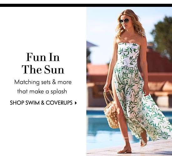 Swimwear and Coverups