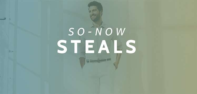 All $29.99: So-Now Men's Style