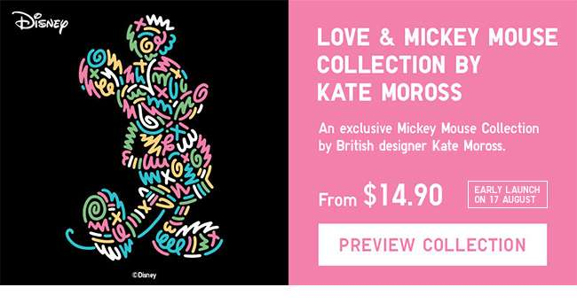 Love & Mickey Collection by Kate Moross | 17 August