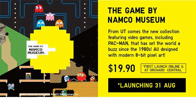 The Game by Namco Museum, Pac-Man | 31 August
