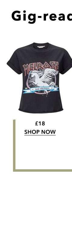 Melrose Rock Stud T-Shirt