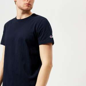 Champion Men's Short Sleeve Logo T-Shirt - Navy