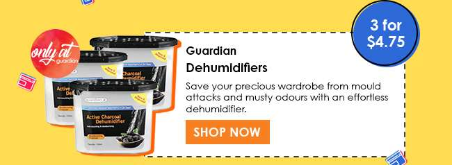 Shop for Guardian Dehumidifiers (3 for $4.75)
