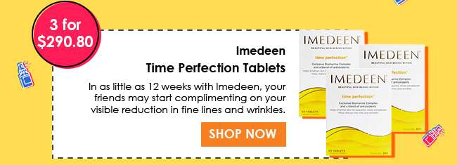 Shop for Imedeen Time Perfection Tablets (3 for $290.80)