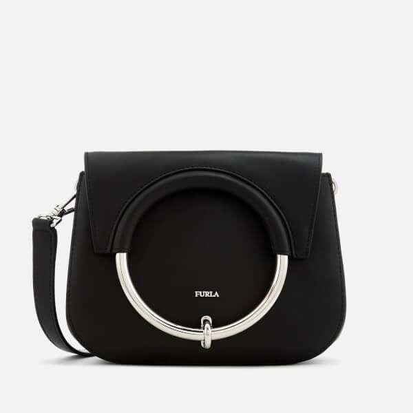 Furla Women's Margherita Mini Cross Body Bag - Black