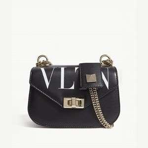VLTN leather shoulder bag