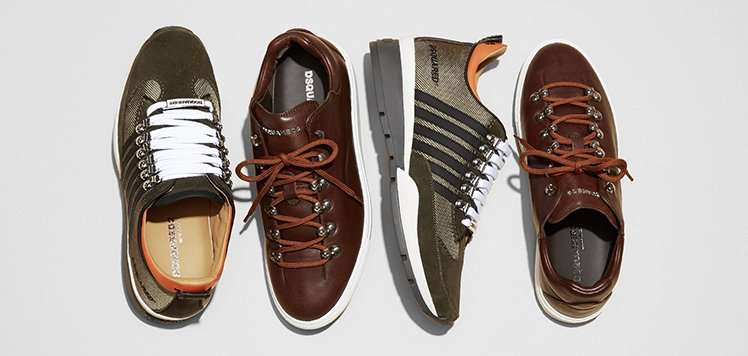 Dsquared2 & More Top-Line Sneakers